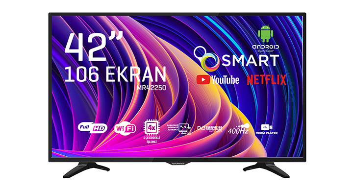 NORDMENDE NM42250 42'' FULL HD ANDROİD SMART LED