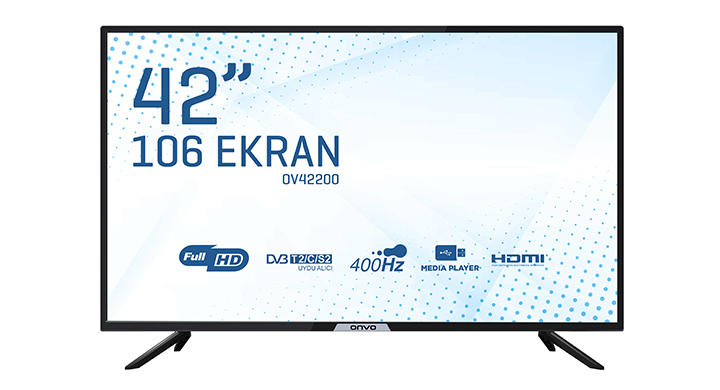 ONVO OV42200  42'' FULL HD UYDU ALICILI LED